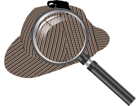 enlarger: Sherlock Holmes Magnifying glass