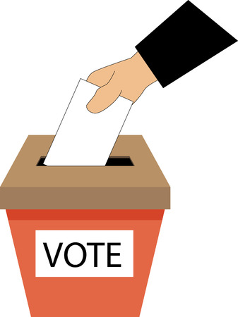 governing: Ballot Box Illustration