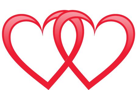 manos unidas: Two hearts