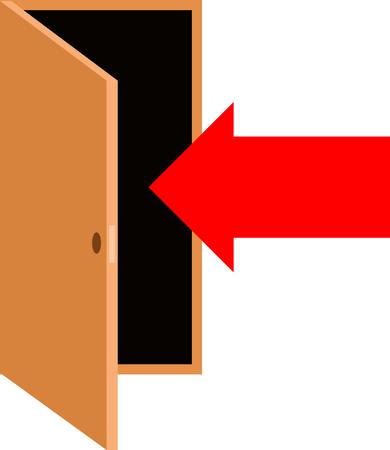 In door symbol