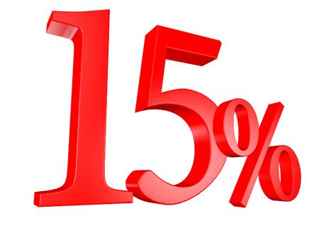 15: 15%