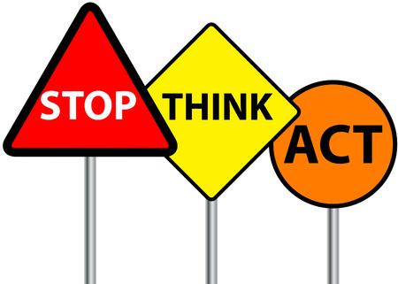 arrêter pense