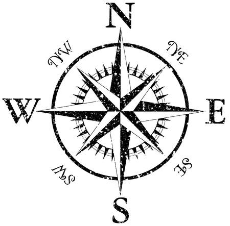 compass  イラスト・ベクター素材