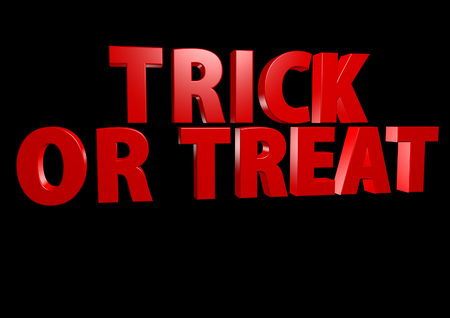 Trick or Treat 3D render