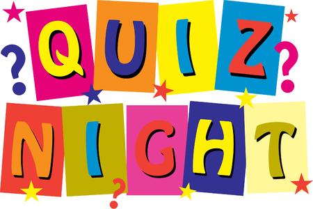 Quiz Night Logo Imagens