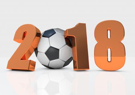 2018 football Stock Photo