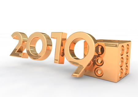 2019 3D render
