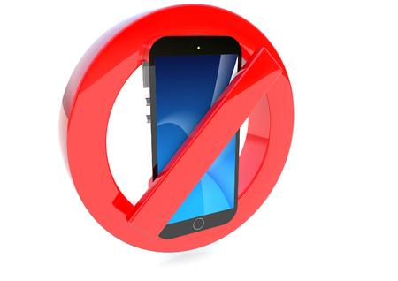 No Mobile phones symbol