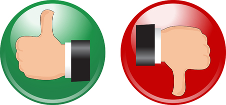 Stop go buttons