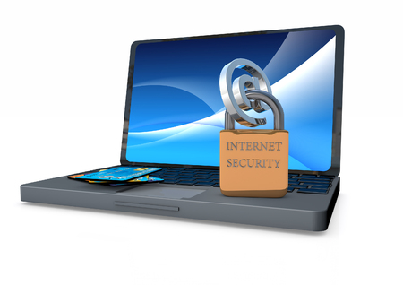 Laptop with internet security