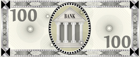 Bank note Illustration