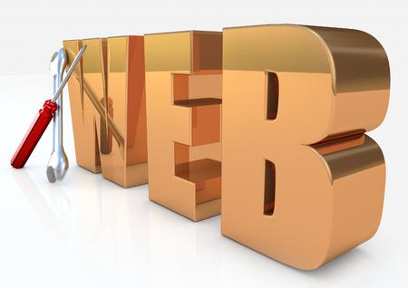 Web Tools 3D render