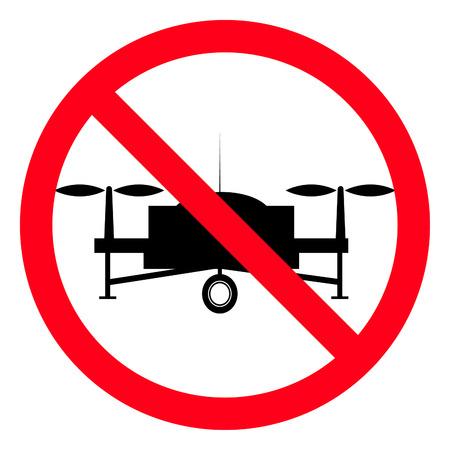 No Drones warning sign