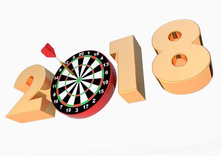 2018 Darts board and dart