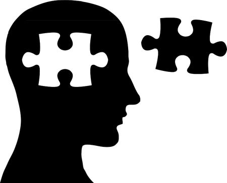 Jigsaw in head
