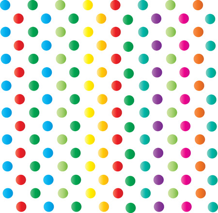 Colored Dots background