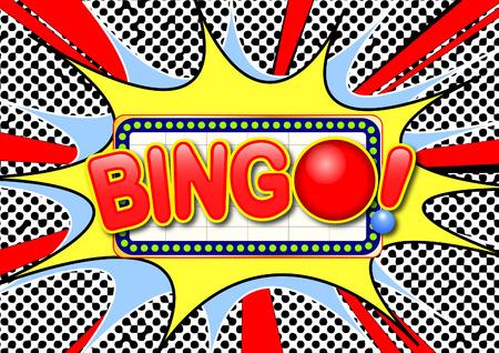 Bingo sign Vettoriali