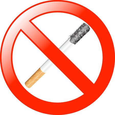 No Smoking symbol Illustration