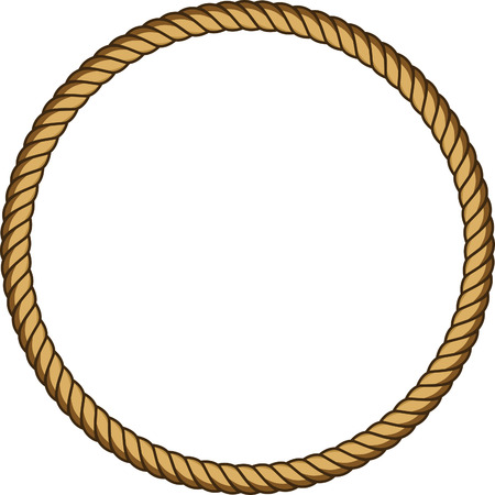 Rope round frame