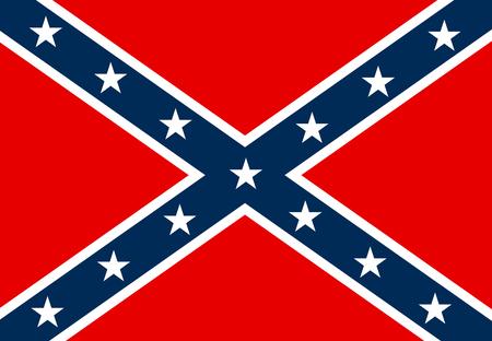 confederate flag Illustration