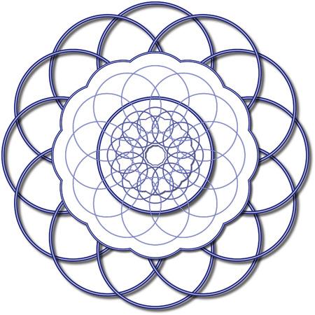 Graine de symbole de la vie Banque d'images - 97309567