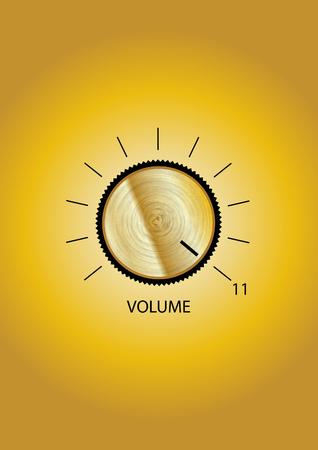 Volume control Illusztráció