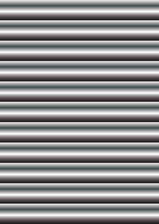 Silver chrome shutters