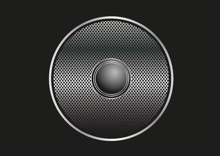 Speaker grill illustration