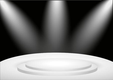 Spotlight on Stage Illustration
