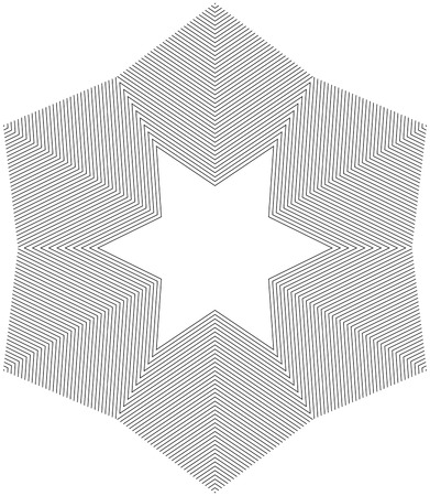 Star Pattern Ilustracja