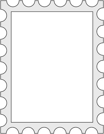 Stamp frame
