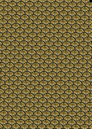 Deco repeat pattern