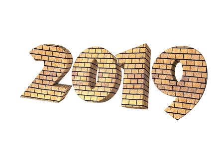 2019 Brick Lettering