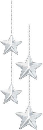 Hanging Star decoration Ilustracja