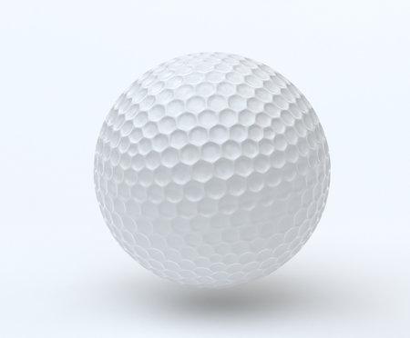 Golf Ball 3D render