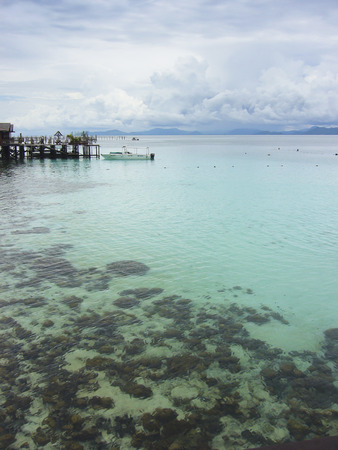 mabul: Mabul is a small island off the south-eastern coast of Sabah in Malaysia. The island has been a fishing village since the 1970s. Then in the 1990s, it first became popular to divers due to its proximity to Sipadan island.  Located 15 km from Sipadan, this