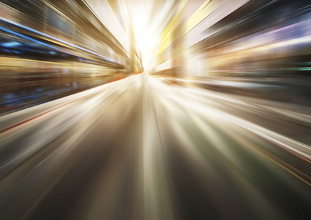 blurred motion: light blue motion blur background
