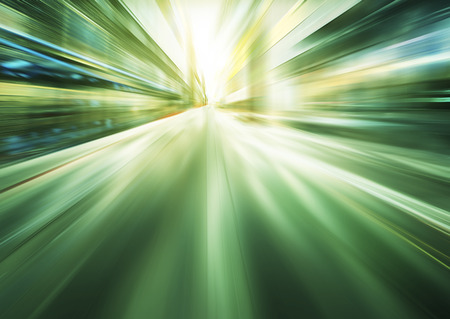 lichtblauw motion blur achtergrond Stockfoto