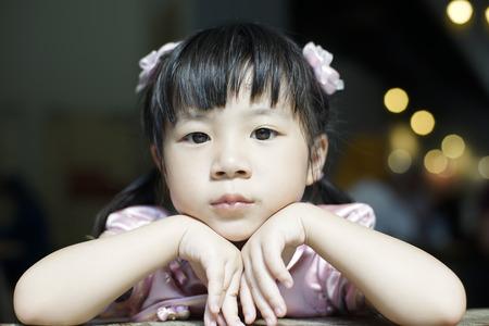 diversidad: Portrait of young cute girl Foto de archivo