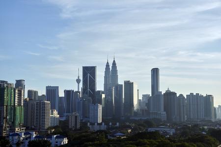 kuala Lumpur skyline Imagens