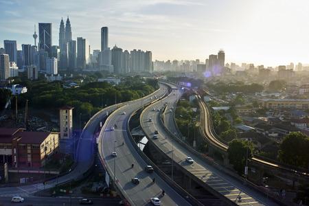 dramatic: Kuala Lumpur Skyline