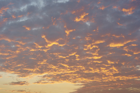 dramatic sunrise: Dramatic sunrise like fire in the sky with golden clouds