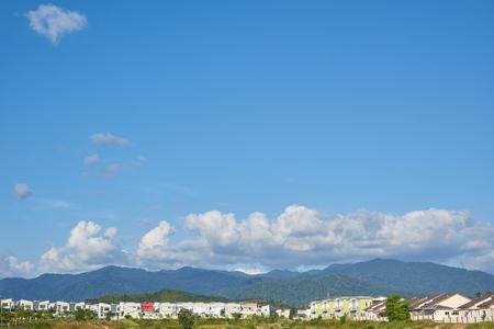 terrace house: terrace house under the blue skies