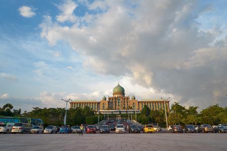 islamic scenery: Malaysia Prime Minister Office at Putrajaya, Malaysia Editorial