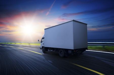 camion Transport Banque d'images