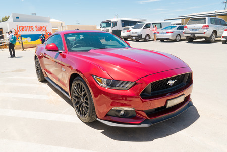 Perth Australia November   Ford Mustang Gt Parked In The Perth