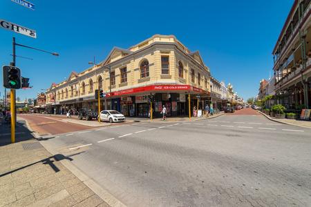 PERTH, AUSTRALIA - November 5, 2016 : Fremantle city building street scene  ,Fremantle, Western Australia.