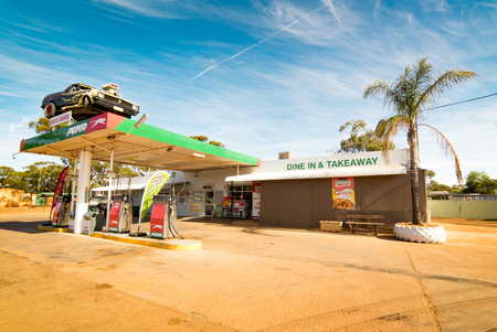 Perth, AUSTRALIA - November 7, 2016 : Puma Energy is a Singapore based petroleum company with more than 1850 service stations worldwide, including this site in Western Australia.