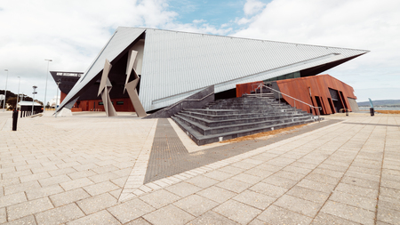 ALBANY, AUSTRALIA - November 8, 2016 : Albany Entertainment Centre is the Great Southerns premier multi-purpose venue, home to the Princess Royal Theatre, View Restaurant and Albany Box Office.