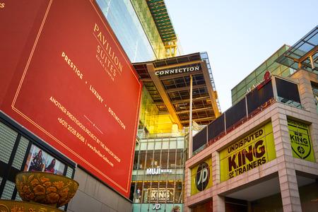 KUALA LUMPUR, MALAYSIA - Feb 16, 2017: PAVILION Shopping mall in Bukit Bintang. PAVILION is a shopping mall located in Bukit Bintang shopping district opened in 2007.